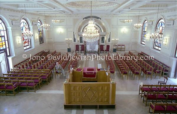 MOROCCO, Casablanca. Temple Beth El (8.2001)