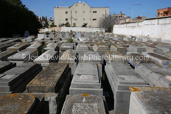 MOROCCO, Sale. Jewish Cemetery (2.2015)