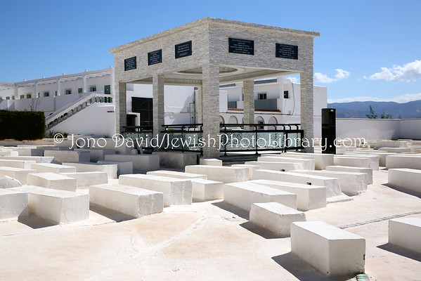MOROCCO, Aghzou. Shrine of Rabbi David Barroukh Cohen Azogh (Jewish Cemetery) (2.2015)