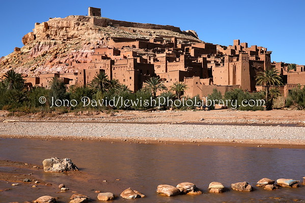 MOROCCO, Ait Ben Haddou. Ksar Ait Ben Haddou (ancient town where Jews once lived) (2.2015)