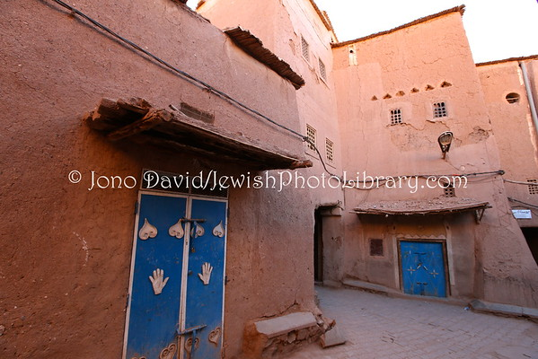 MOROCCO, Ouarzazate. Mellah (former Jewish Quarter) (2.2015)