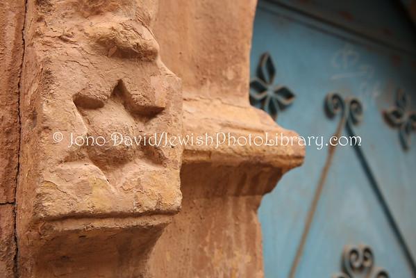 MOROCCO, Tiznit. Aitoufrane, Mellah (former Jewish Quarter) (2.2015)