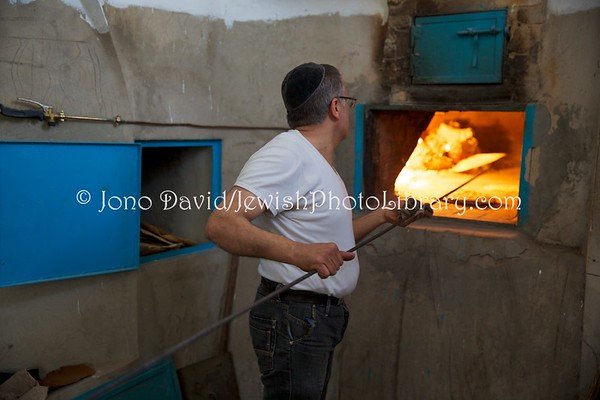 TUNISIA, Djerba, Hara Kebira. Institutions Or Torah Djerba Matzoh Bakery (3.2016)