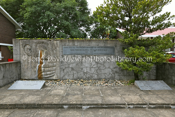 SOUTH AFRICA, Eastern Cape, East London. Holocaust Memorial (at East London Hebrew Congregation) (3.2013)