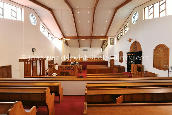 SOUTH AFRICA, Eastern Cape, East London. East London Orthodox Synagogue (3.2013)