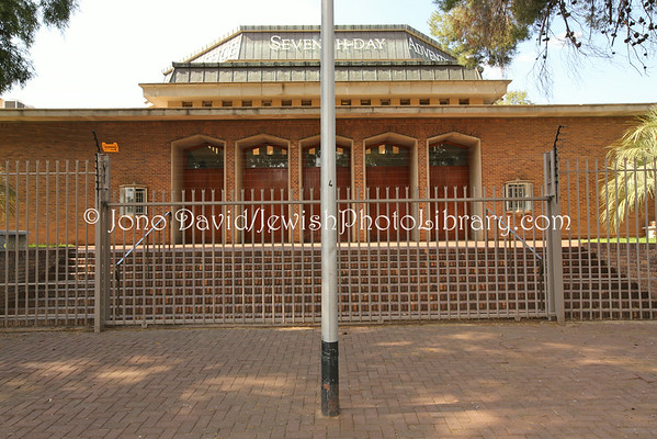 SOUTH AFRICA, Free State, Bloemfontein. Fairview Synagogue (former) (2.2014)