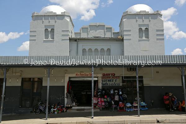 SOUTH AFRICA, Free State, Kroonstad. Kroonstad Synagogue (1st, former) (2.2013)