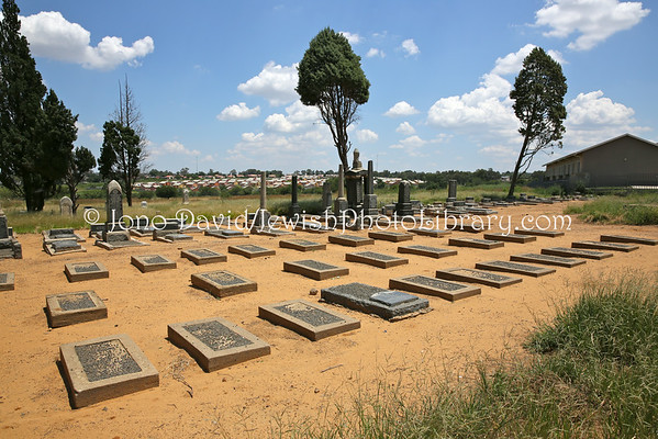 SOUTH AFRICA, Free State, Kroonstad. Old Jewish Cemetery (2.2013)