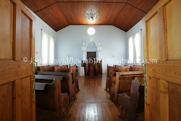 SOUTH AFRICA, Free State, Parys. Parys Synagogue (and social hall) (former) (2.2013)