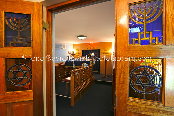 SOUTH AFRICA, Gauteng, Benoni. Benoni Synagogue (3.2013)