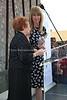 ZA 19438  Holocaust survivor Veronica Phillips and JH&GC Director Tali Nates