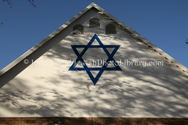 SOUTH AFRICA, Gauteng, Johannesburg, Northcliff. Northcliff Hebrew Congregation (8.2012)