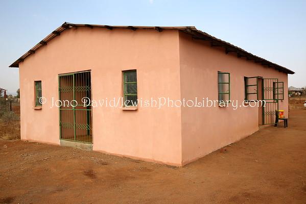 SOUTH AFRICA, Limpopo, Manavhela. Community Centre, Lemba Cultural Association (LCA) (8.2015)