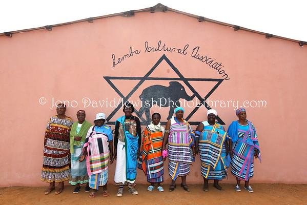 SOUTH AFRICA, Limpopo, Manavhela. Community members, Lemba Cultural Association (LCA) (8.2015)