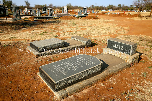 SOUTH AFRICA, Limpopo, Warmbaths (Bela-Bela). Warmbaths (Bela-Bela) Jewish Cemetery (8.2014)