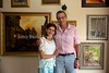 ZA 20016  Gavin and Megan Kotzen (farmer, Judaic artist, respectively)  Bethal, South Africa
