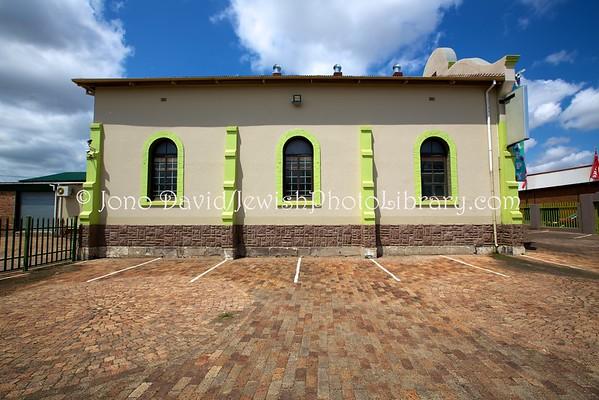 SOUTH AFRICA, Mpumalanga Province, Middelburg. Middelburg Synagogue (former) (2.2016)