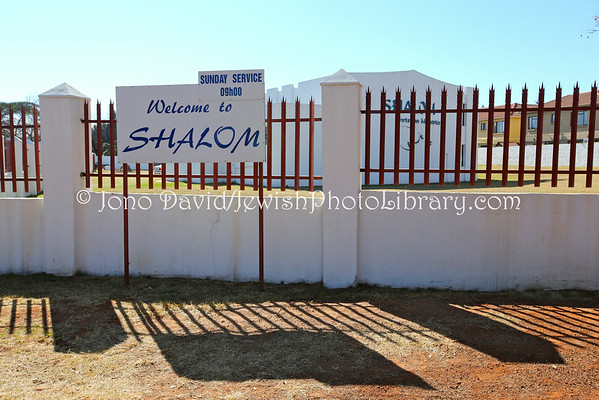 SOUTH AFRICA, Mpumalanga Province, Witbank. Witbank Hebrew Congregation (former) (8.2013)