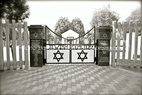 SOUTH AFRICA, North West Province, Klerksdorp. Jewish Cemetery (2.2013)