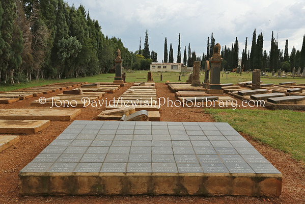 SOUTH AFRICA, North West, Potchefstroom. Jewish Cemetery (2.2013)