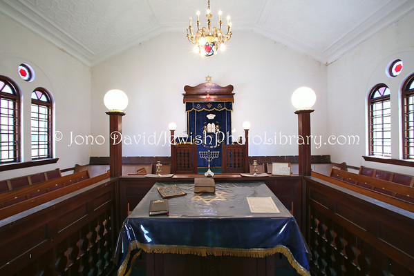 SOUTH AFRICA, North West Province, Rustenberg. Rustenberg Hebrew Congregation (2.2013)