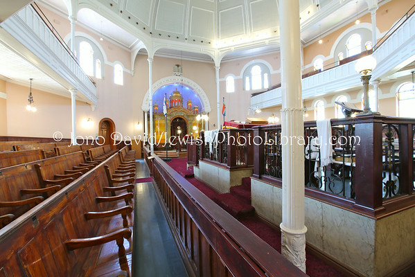 SOUTH AFRICA, Northern Cape, Kimberley. Memorial Road Synagogue (aka Kimberley Synagogue) (2.2014)