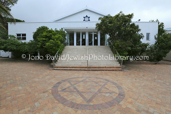 SOUTH AFRICA, Western Cape, Cape Town, Camps Bay. Camps Bay Hebrew Congregation Synagogue (3.2013)