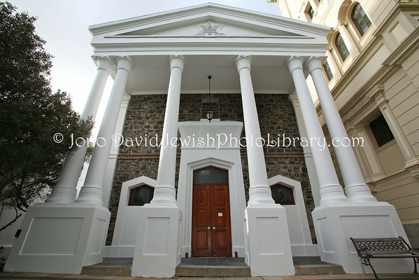 SOUTH AFRICA, Western Cape, Cape Town, Gardens. Cape Town Hebrew Congregation (9.2012)