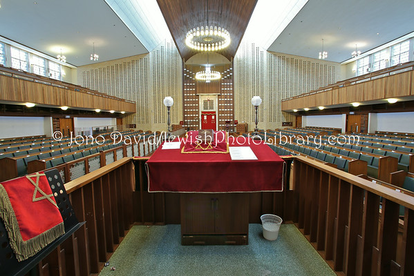 SOUTH AFRICA, Western Cape, Cape Town, Wynberg. Claremont Wynberg Hebrew Congregation (9.2012)