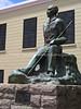 ZA 19850  Jan Smuts statue, Slave Museum