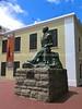 ZA 19849  Jan Smuts statue, Slave Museum