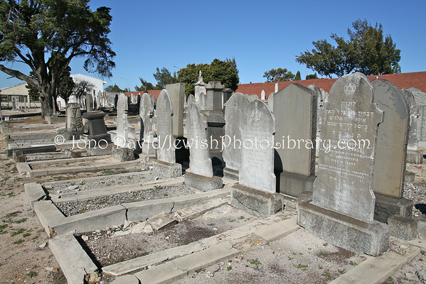 SOUTH AFRICA, Western Cape, Cape Town, Maitland. Maitland 7th Avenue Jewish Cemetery (9.2012)