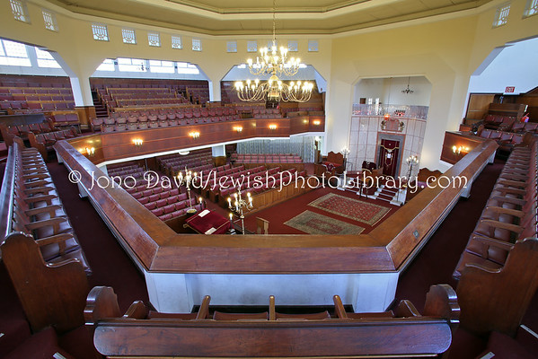 SOUTH AFRICA, Western Cape, Cape Town, Sea Point. Green & Sea Point Hebrew Congregation, Marais Road Synagogue (9.2012)