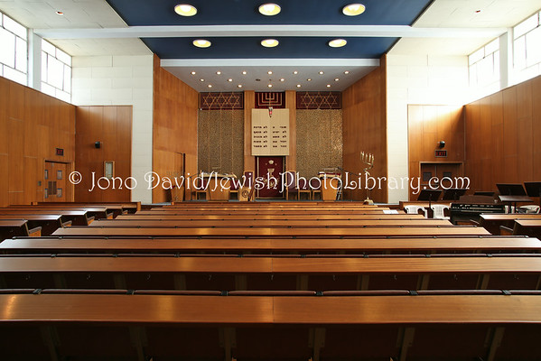 SOUTH AFRICA, Western Cape, Cape Town, Wynberg. Temple Israel, Wynberg, Cape Town Progressive Jewish Congregation (8.2012)