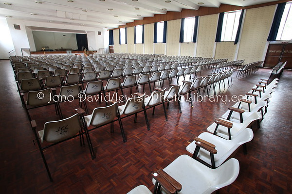 ZIMBABWE, Harare. Function Hall (former), Harare Hebrew Congregation (8.2012)
