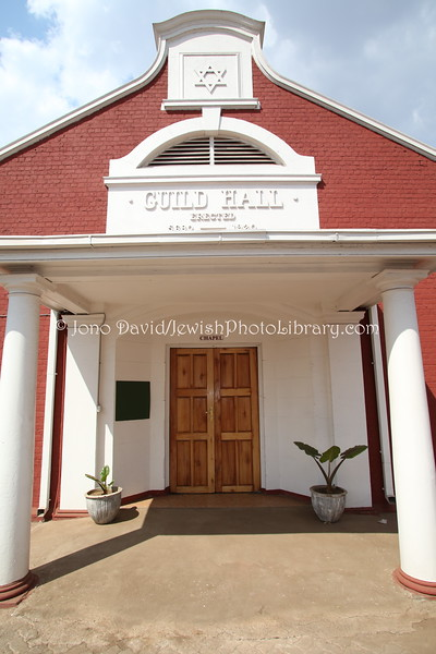 ZIMBABWE, Harare. Guild Hall (former Jewish centre) (8.2012)
