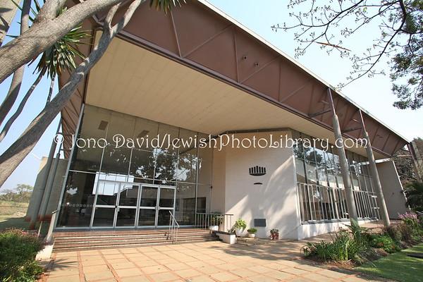 ZIMBABWE, Harare. Harare (Salisbury) Hebrew Congregation (8.2012)