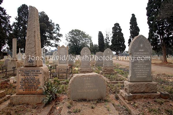 ZIMBABWE, Harare. Pioneer Jewish Cemetery (8.2012)