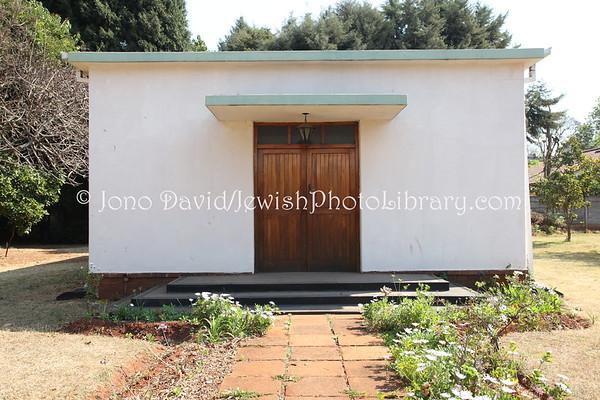ZIMBABWE, Harare. Sephardi Hebrew Congregation, Succah (8.2012)