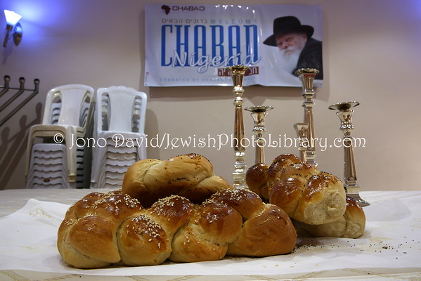 NIGERIA, Abuja. Shabbat preparations, Chabad-Lubavitch of Abuja (8.2015)