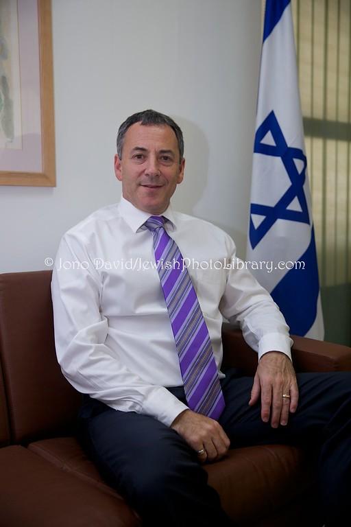SENEGAL, Dakar. Ambassador of Israel to Senegal Paul Hirschson (also, Ambassador to Gambia, Guinea-Bissau, Sierra Leone, Cape Verde) (3.2016)