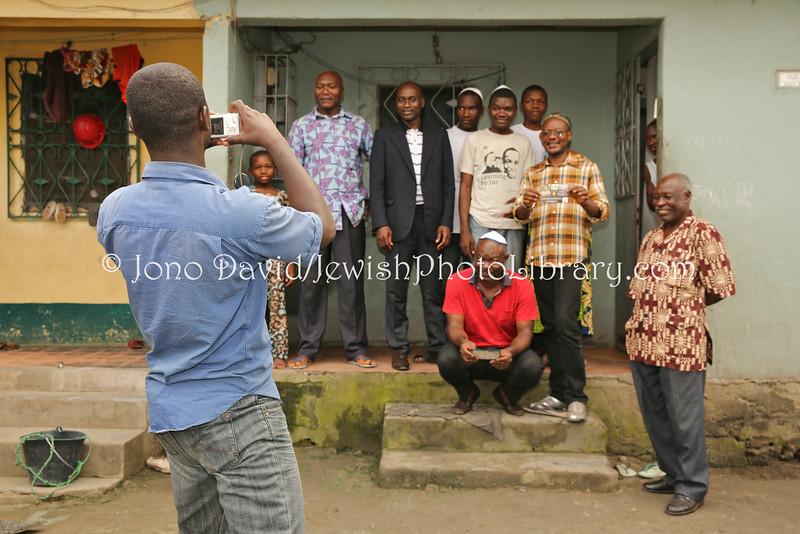 CM 20  Beth Yehourun Jewish community members, Douala, Cameroon