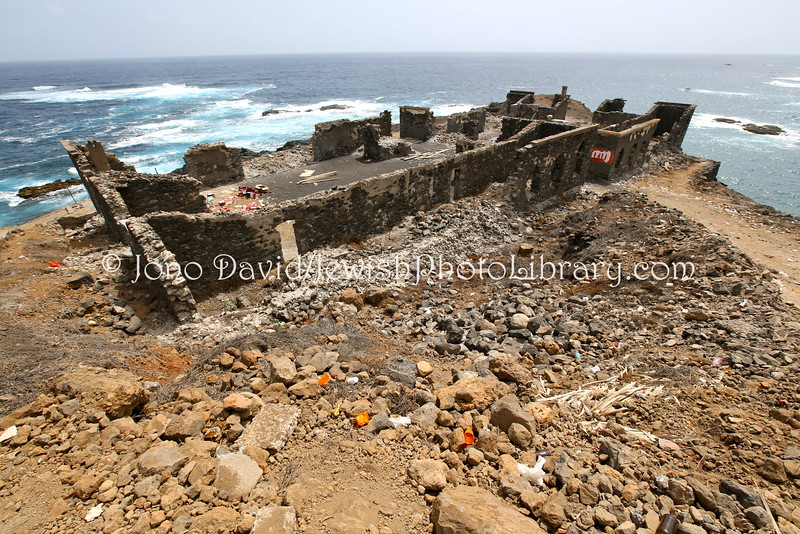 CV 529  Synagogue and social center (ruins)  Sinagoga, Santo Antao, Cape Verde
