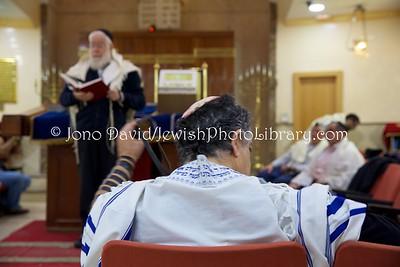 ES 1455  Shacharit (morning) service, Bet El Synagogue  Ceuta, Spain
