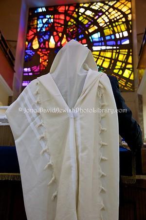 ES 1437  Shacharit (morning) service, Bet El Synagogue  Ceuta, Spain