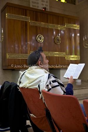 ES 1387  Shacharit (morning) service, Bet El Synagogue  Ceuta, Spain