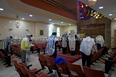 ES 1429  Shacharit (morning) service, Bet El Synagogue  Ceuta, Spain
