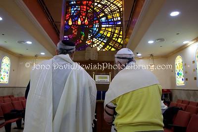 ES 1449  Shacharit (morning) service, Bet El Synagogue  Ceuta, Spain