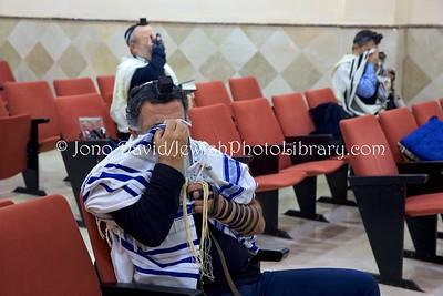 ES 1417  Shema Yisrael, Shacharit (morning) service, Bet El Synagogue  Ceuta, Spain