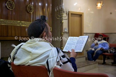 ES 1389  Shacharit (morning) service, Bet El Synagogue  Ceuta, Spain